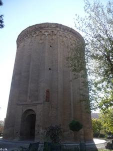 Grave tower in Shar-e Rey
