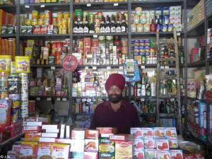 Indian seller in Zahedan