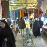 Zahedan bazaar in the evening