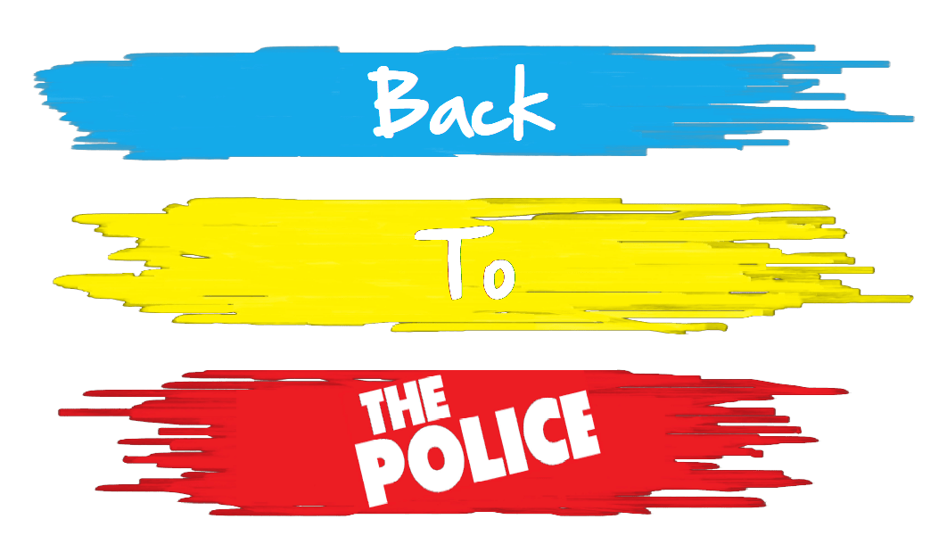 back to the police logo