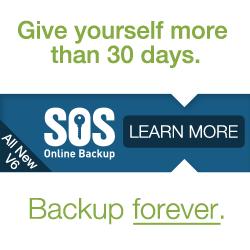 SOS online backup forever