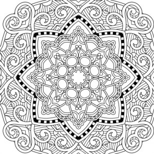 coloring pages to print for adults # 5
