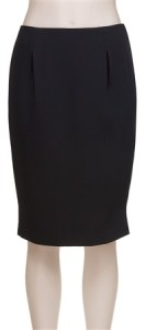 Max Studio - Black Pencil Skirt