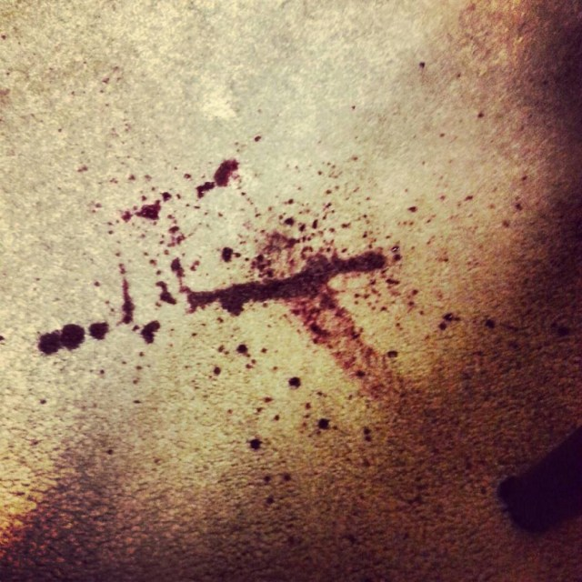 The Red Wine Stain!