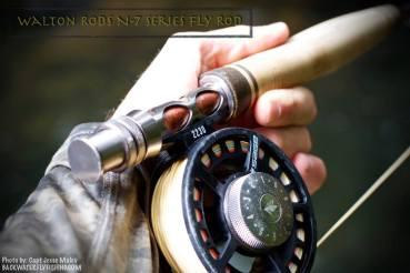 costa rica trout fishing walton rods N-7