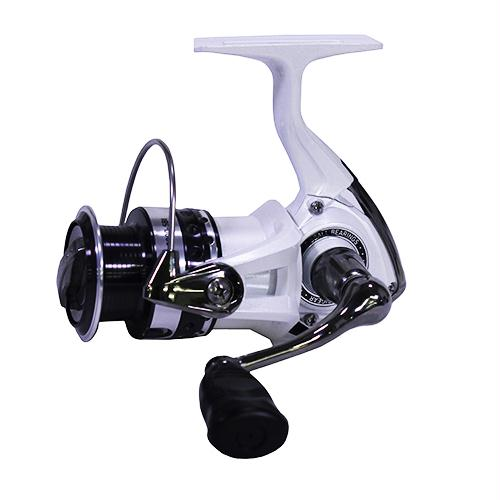 033fd8f5b46 Daiwa Laguna 5BI Spinning Reel 2000, 5.3:1 Gear Ratio, 6 Bearings, 27.6″  Retrieve Rate, 4.40 lb Max Drag, Clam