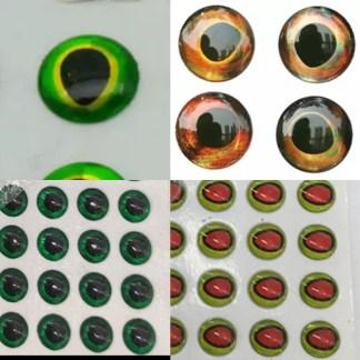 3d designer eyes for lures