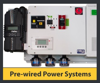 Pre-Wired Power Systems