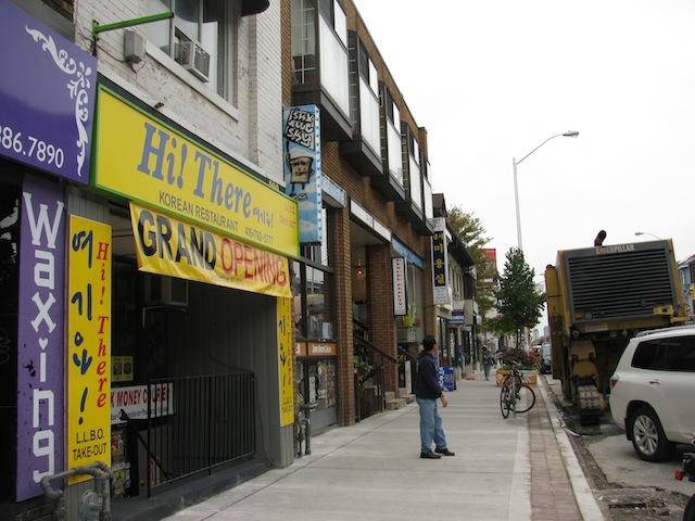 Toronto's Koreatown.
