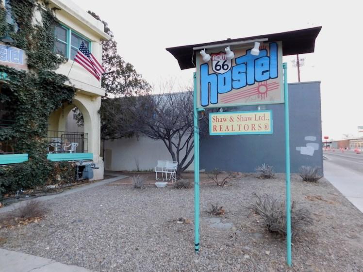 Route 66 Hostel Albuquerque