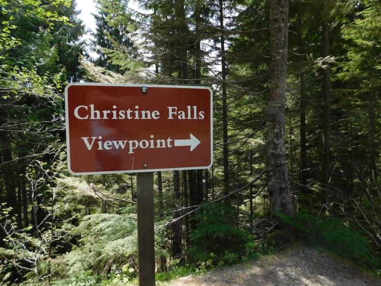 Mount Rainier National Park, Christine Falls