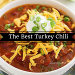 The Best Turkey Chili Recipe, Chili Recipe, Game Day, Superbowl, the Big game party, Backyard Eden, www.backyard-eden.com