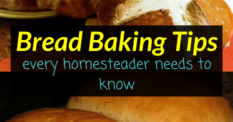 Bread Baking Tips – Every homesteader needs to know