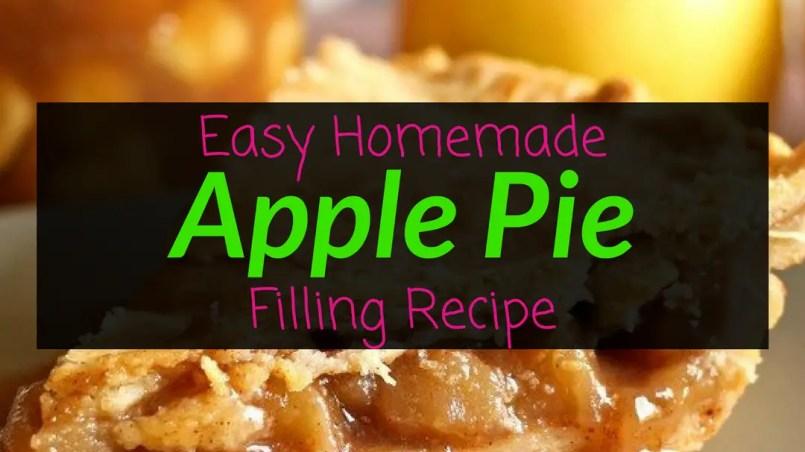 Easy Homemade Apple Pie Filling Recipe, apple pie, apple pie filling, apple pie filling recipe, Backyard Eden, www.backyard-eden.com, www.backyard-eden.com/easy-homemade-apple-pie-filling-recipe