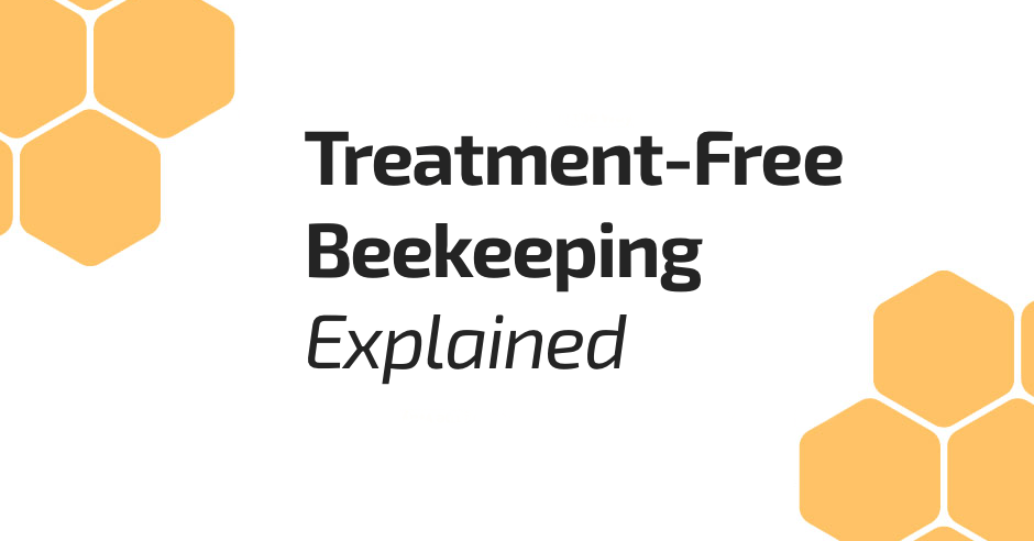Treatment-Free Beekeeping Beepods Top Bar Hive