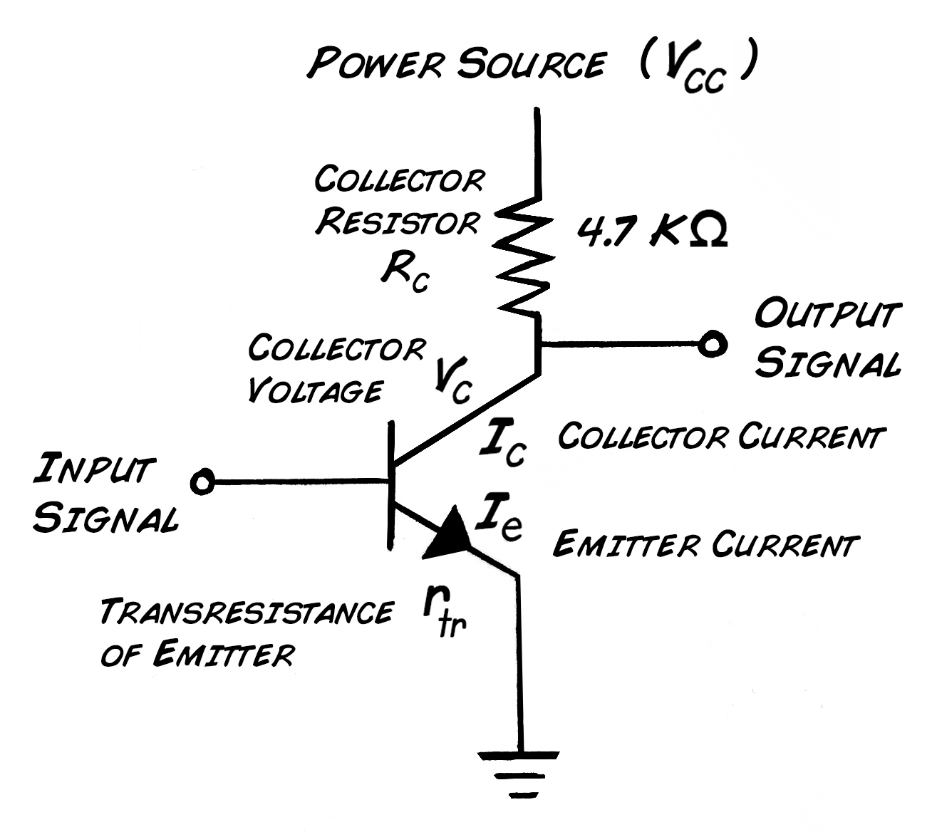 A Transistor Pinout Computerselectricityelectronics T