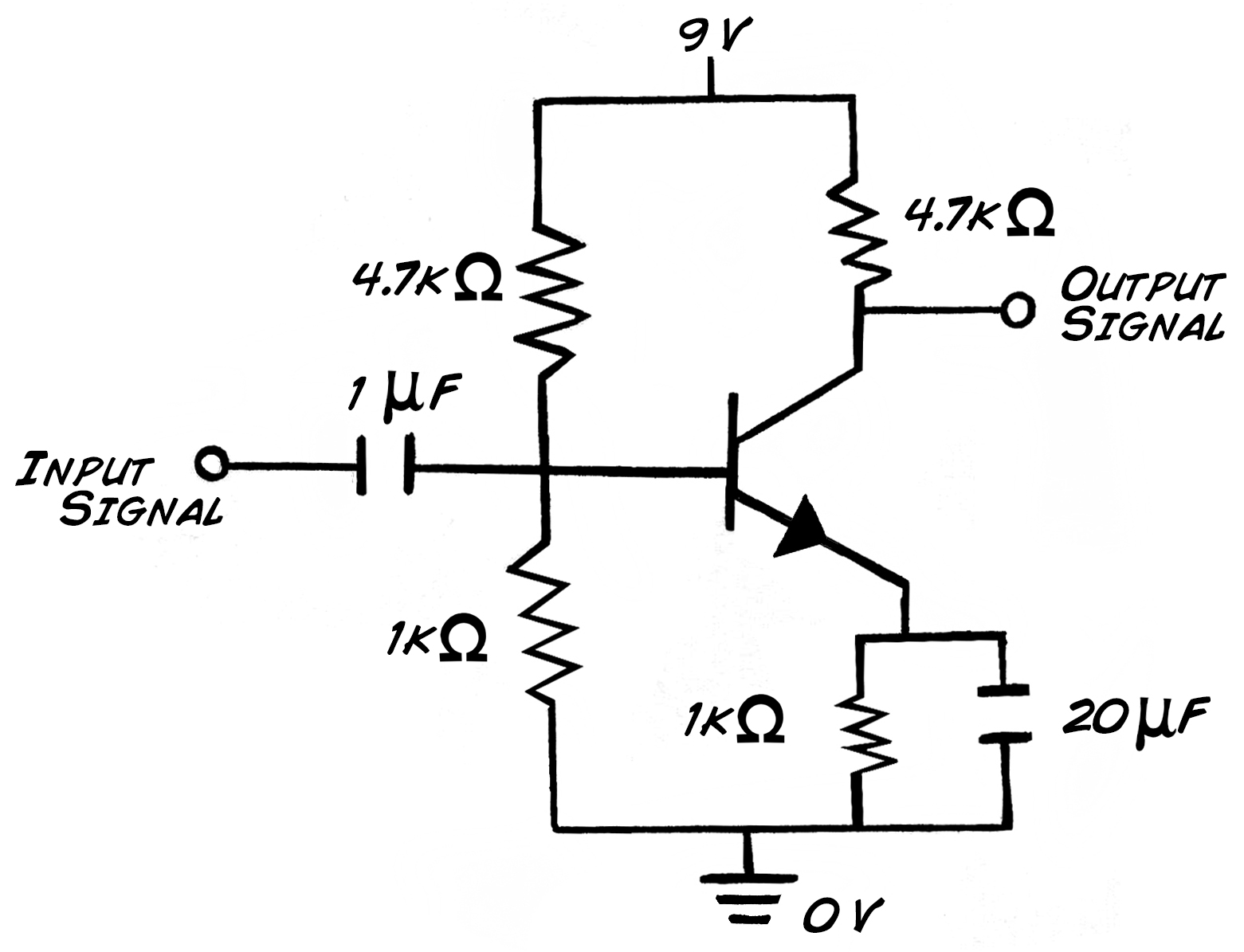 led mosfet circuit