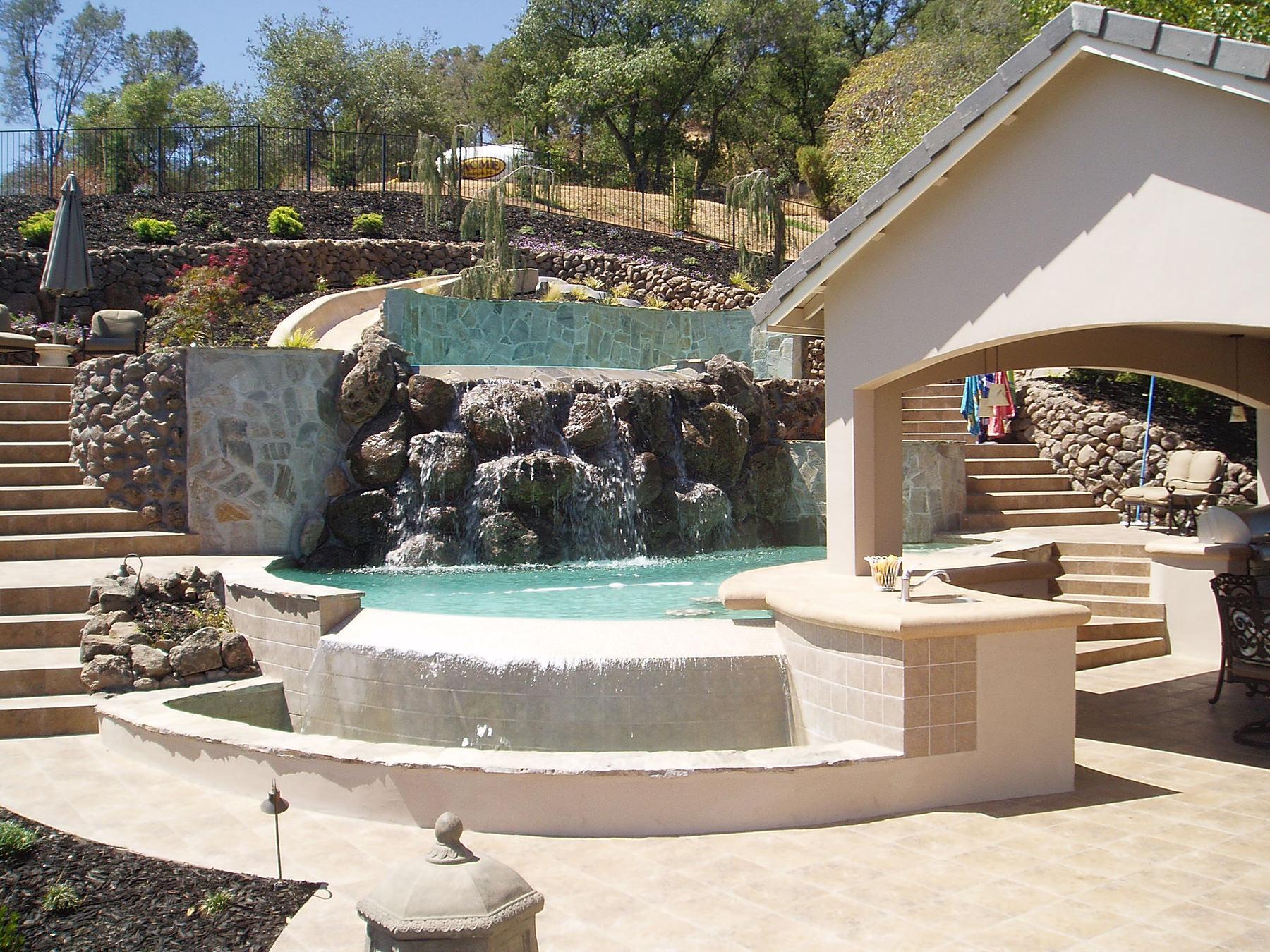 Custom Pools & Spas - Backyard Dream on Dream Backyard With Pool id=27416