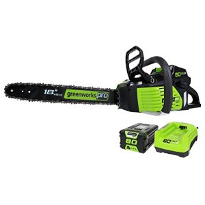 Greenworks PRO 18-Inch 80V Cordless Chainsaw