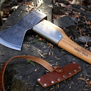 Helko Werk Germany Bavarian Woodworker Axe Each bit is hand crafted by Helko's Grasp Smiths, lifelong artisans of metalcraft. The Smith makes use of tongs on an open face drop forge to form the pinnacle, a talent requiring spectacular management and hand eye coordination that may solely be achieved by way of years of apply. As soon as happy along with his work, the Smith hammers the Helko Werk crown emblem into the cheek. Solely minimal supplementary work is carried out, permitting every blade to proudly show its forging marks. No two items are precisely alike.
