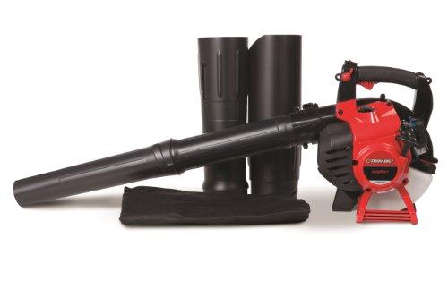 Troy-Bilt 27cc 2-Cycle Gas Leaf Blower/Vac with JumpStart Technology Troy-Bilt TB2BV EC 27cc 2-Cycle Gas Leaf Blower/Vac with JumpStart Technology and Vacuum Accessory.