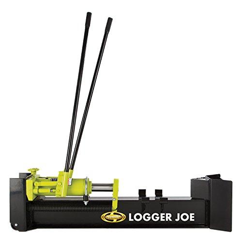 Sun Joe Log Splitter, 10 Tons, Green