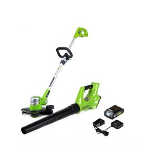 Greenworks 24V Cordless String Trimmer & Blower Combo Pack