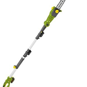 SmartEco 20V Lithium Ion Cordless 8-inch Telescoping Pole Saw