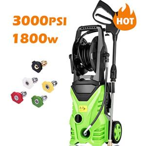 Homdox 3000 PSI Pressure Washer, 1800W Power Washer