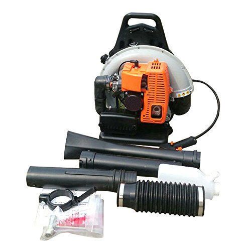 65cc 2 Stroke Commercial Backpack Gas Powered Leaf Blower Gasoline