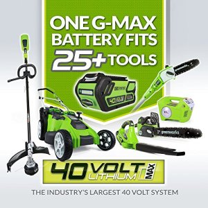 Greenworks 16-Inch 40V Cordless Lawn Mower, 4.0 AH Battery Included Greenworks 16-Inch 40V Cordless Lawn Mower, 4.0 AH Battery Included 25322.
