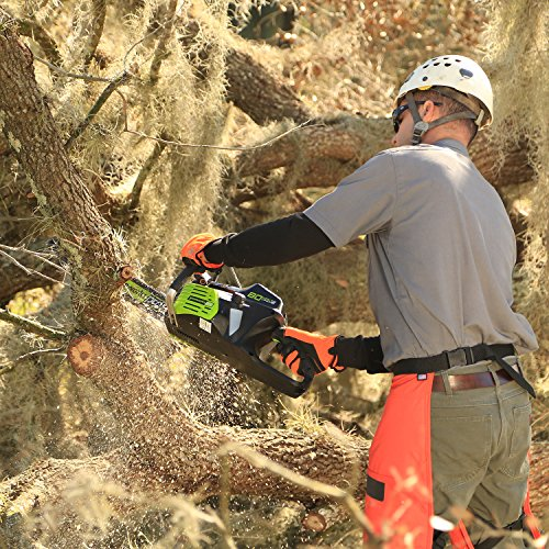 Greenworks PRO 18-Inch 80V Cordless Chainsaw Inexperienced Works is beginning a revolution in out of doors energy gear beginning with its Inexperienced Works Professional 80V Li-Ion MAX system. Mixed with our DigiPro Brushless motor, that is the best voltage, gasoline equal, industrial grade cordless out of doors energy software system within the business. That includes the easy electrical begin, mild weight designs and quieter motor, professionals and heavy DIY'ers can now sort out robust jobs by way of variable terrain with out the effort of gasoline, fumes, heavy gear or delicate upkeep wants of gasoline powered engines. The evolution of Inexperienced Works lithium-ion expertise and designs have made it attainable for professionals to get their jobs completed by merely snapping in a battery and urgent a button whereas delivering excessive efficiency energy and longer run time to get the job completed. Inexperienced Works Professional 80V Li-Ion MAX System contains a Jet Blower, 18-inch Chainsaw, Hedge Trimmer, String Trimmer, Garden Mower. With Inexperienced Works, we perceive that it isn't only a software.it is your life.