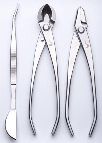 3 PCS Bonsai tool Set JTTK-20 Jin Pliers / Round Edge Cutter