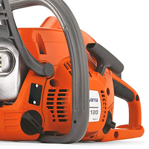Husqvarna 16 in. 16 Inch 120 Mark II Gas Chainsaw Choose up a gas-powered chainsaw from Husqvarna with sufficient energy to deal with your on a regular basis duties. The Husqvarna 120 is constructed for owners who want a light-weight and environment friendly slicing device. That includes an X-Torq engine for decrease gasoline consumption and emissions, this gas-powered chainsaw is prepared for tree pruning, pastime work and different mild duties. Straightforward to start out, easy to make use of and a sensible device to have in your shed or storage in any season.