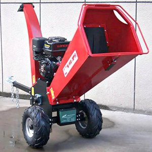 Wood Chipper Cutter Leaf Mulcher Shredder 5 Inch Capacity