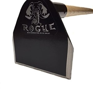 Rogue Field Hoe, 5 inch Lightweight Garden Grub Tool Used for Digging