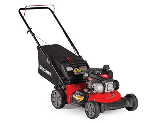 Craftsman 140cc 21-Inch 3-in-1 Gas Powered Push Lawn Mower Craftsman M105 140cc 21-Inch 3-in-1 Gas Powered Push Lawn Mower with Bagger.