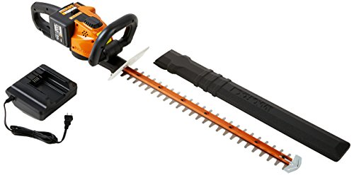 "WORX 56V 24"" Cordless Electric Hedge Trimmer"