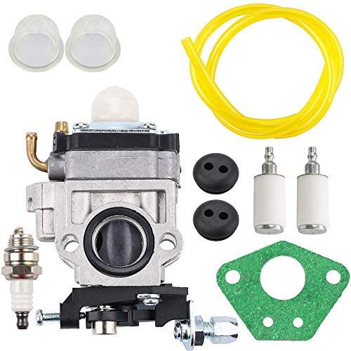 Kizut Carburetor for Earthquake Auger Fuel Line Grommet Tune-Up Kit