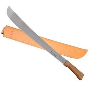 "24"" Martindale Crocodile Machete Wood Handle"