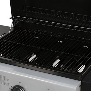 MASTER COOK Classic Liquid Propane Gas Grill, 3 Bunner MASTER COOK Classic Liquid Propane Gas Grill, 3 Bunner with Folding Table, Black.