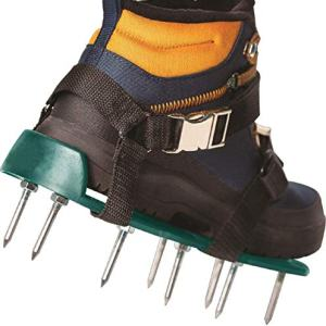 EEIEER Lawn Aerator Shoes, Aerator Shoes with Newest Designed Straps