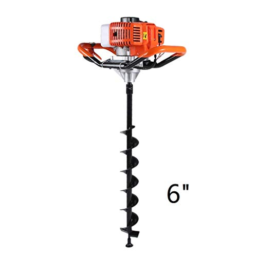 GiODLCE 52CC Gas Powered Post Hole Digger 2-Cycle Earth Auger