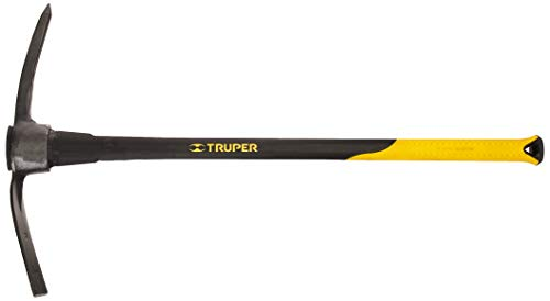Truper 5-Pound Pick Mattock with 36-Inch Fiberglass Handle