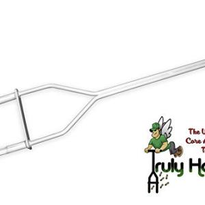 Truly Holey Manual Lawn Aerator Tool - 5 Pounds - Two Prong