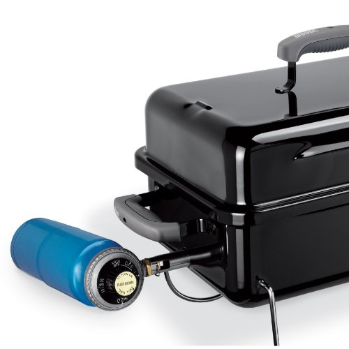 Weber Go-Anywhere Gas Grill, ONE Size, Black Weber 1141001 Go-Anywhere Gas Grill, ONE Size, Black.