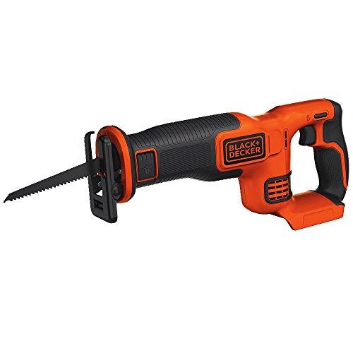 BLACK+DECKER 20V MAX Reciprocating Saw, Tool Only BLACK+DECKER 20V MAX Reciprocating Saw, Tool Only (BDCR20B).