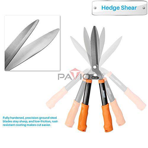 iGarden 3 Piece Tree and Shrub Lopper-Shears-Purner Set Garden Instruments