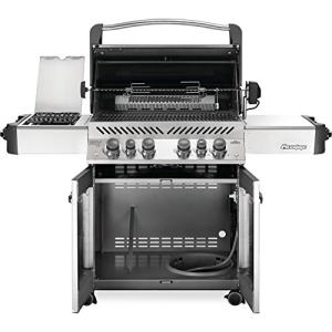 Napoleon Prestige 500 Propane Gas Grill with Infrared Side and Rear Burners