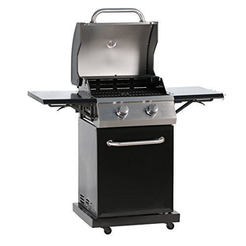 MASTER COOK Professional 2-Burner Liquid Propane Gas Grill Coloration/ Mannequin